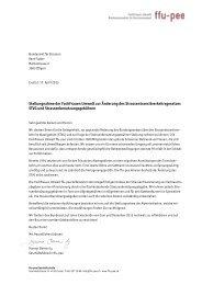 Stellungnahme der FachFrauen Umwelt zur Änderung des ...