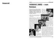 VISKAS 2002 – von hinten inserat