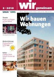 2010 gemeinsam Wir bauen Wohnungen - SAGA-GWG