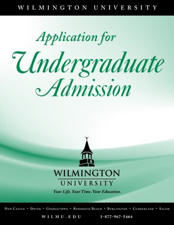 Application for - Wilmington University