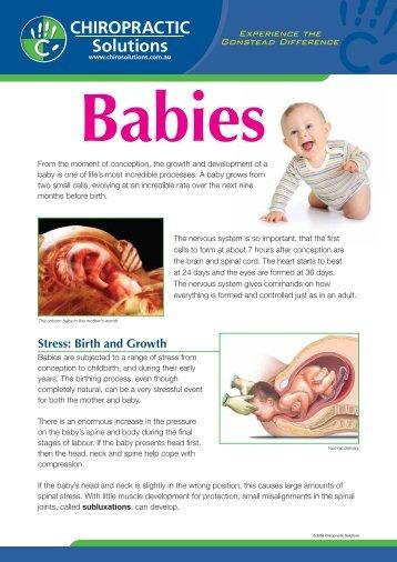 Babies PDF download - Chiropractic Solutions