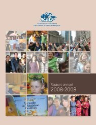 Rapport annuel - acelf