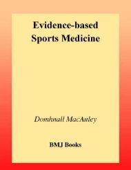 Evidence-based Sports Medicine