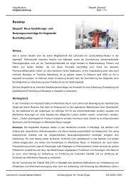 Busstop - Lehrstuhl für Landschaftsarchitektur