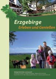 Erzgebirge Erleben und Genießen - Am Sauwald