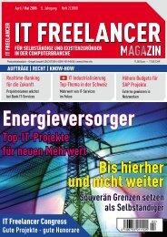 IT Freelancer Magazin Nr. 2/2008