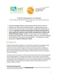 Call for Expressions of Interest overview - EENet