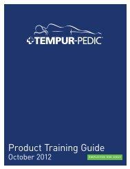 download the Tempur-Pedic catalog here - Cantoni
