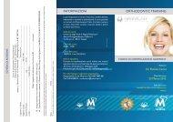 informazioni orthodontic training