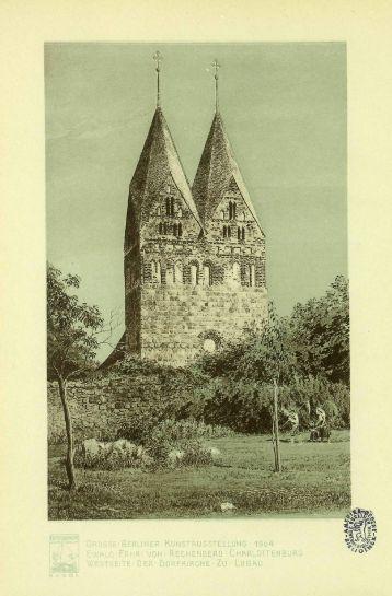 DIE GROSSE BERLINER KUNST AUSSTELLUNG 1904.