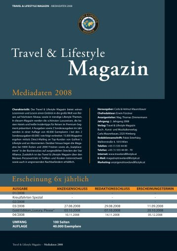 Magazin - Travel & Lifestyle