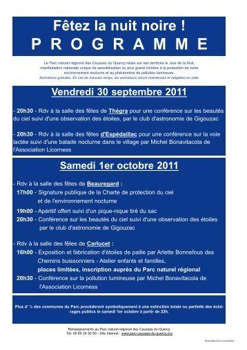 JdN2011_FlyerProgram.. - Le Jour de la Nuit