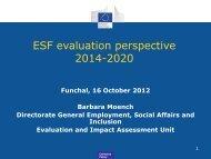 ESF Indicators