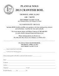 2013 CRAWFISH BOIL - PLANO