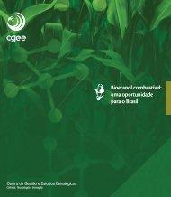 Bioetanol combustível: uma oportunidade para o Brasil - Cogen