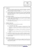 Qualifications and Training Requirements for Cabin Crew - Page 2