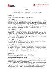 Bases de la convocatoria - Universidad Pública de Navarra