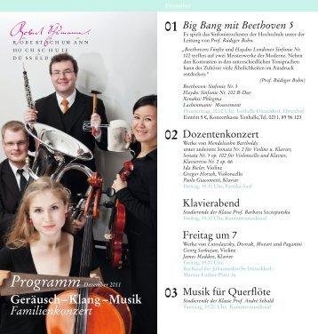 PDF-Download (4 MB) - Robert Schumann Hochschule Düsseldorf