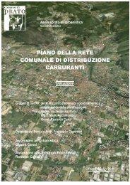 Piano della rete comunale di distribuzione ... - Comune di Prato