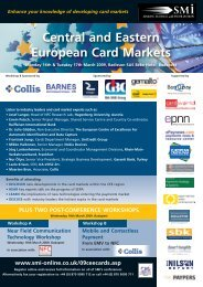 Central and Eastern European Card Markets - SIA