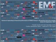 Further development plans of EM&F Group - Empik Media & Fashion