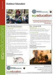 Outdoor Education - Outdoors WA