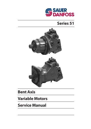 sauer danfoss series 90 service manual