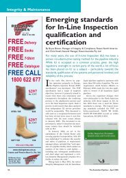 Emerging standards for In-Line Inspection qualification and ...