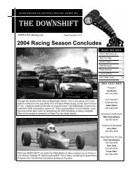 chicagoland sports car club's official publication