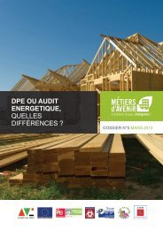 dpe ou audit energetique - Maison de l'Emploi Bordeaux