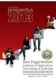 Download Prospectus 2013 (15 mb) - Shiats.edu.in