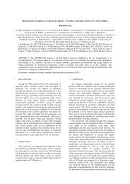Oral presentation at the 15 th European Biomass Conference and ...