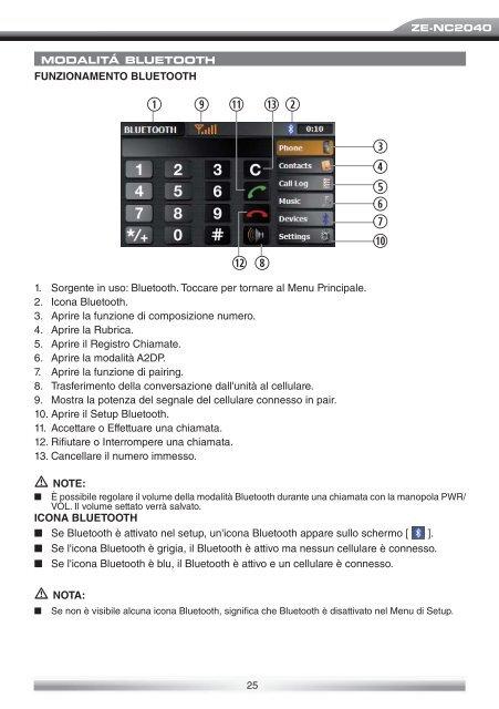 naviricevitore specifico per auto vw modello manuale d'uso - Zenec