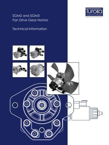 SGM2 and SGM3 Fan Drive Gear Motors Technical ... - Sauer-Danfoss