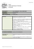 1_catalogue des cours - (ENSA) Dijon - Page 4
