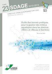 Novembre 2009 - Agence de l'Eau Rhin-Meuse