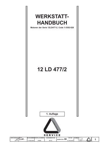 12 LD 477/2 - lombardini service