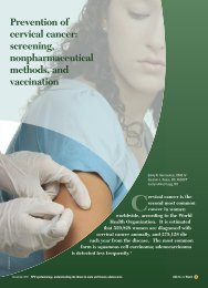 Prevention of cervical cancer: screening ... - CECity