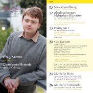 Programm Apr. Mai 2012 - Robert Schumann Hochschule Düsseldorf