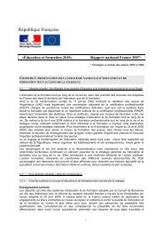 rapport national France 2007 - European Commission