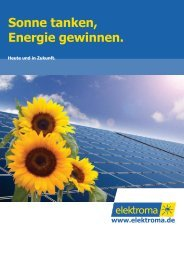 Referenzen Solaranlagen - elektroma GmbH