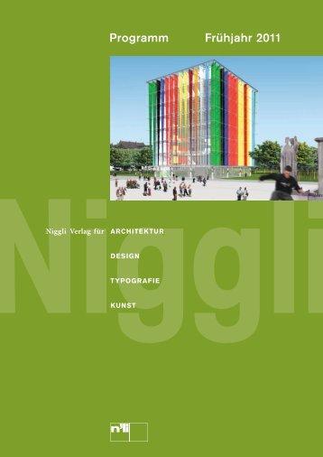 Programm Frühjahr 2011