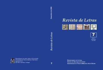 Revista de Letras - Utad