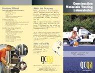 Concrete & Masonry Testing - TransTech Systems Inc.