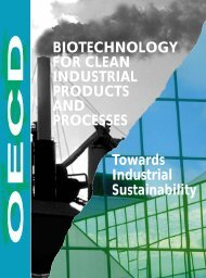 Biotechnology for Clean Industrial Products - Department of ...