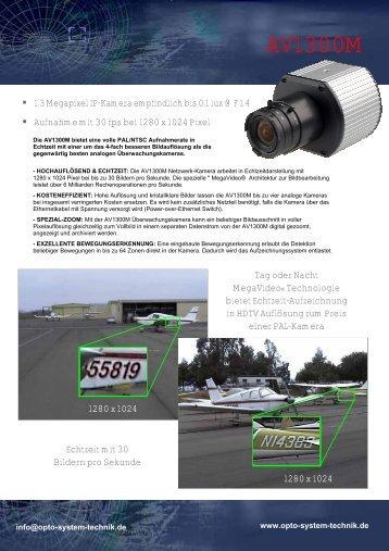 AV1300M - Opto-System-Technik