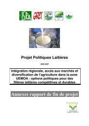 Annexes rapport de fin de projet - REPOL