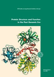Protein Structure and Function in the Post Genomic Era - European ...