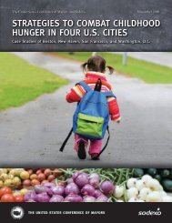 strategies to combat childhood hunger in four us cities - Sodexo ...