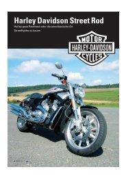 Harley Davidson Street Rod - Kultourbikes.de